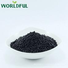 acide humique + engrais granulaire d'acide aminé avec NPK 12-3-3