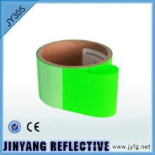 de couleur hi viz fer film transfert thermique réfléchissante sur du ruban réfléchissant