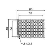 Td-09 Serie Lichtschranke Reflektor Sensor Qualität garantiert