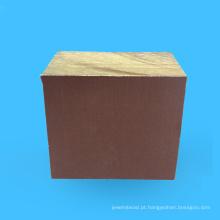 Placa laminada quente isolando de pano de algodão grosso da venda