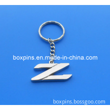 Z Letter Metal Zinc Alloy Key Chain (BOX-MAR-metal key chain-1009)