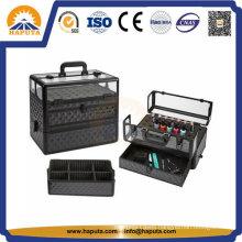 Aluminum PRO Nail Polish Carrying Case Hb-2301