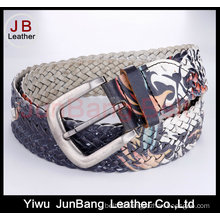 Women′s Fashion Leather Braid Belts