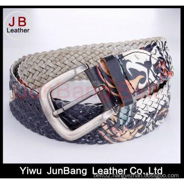 Women′s Fashion Leather Braid Belts