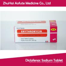 Erythromycin-Tablette