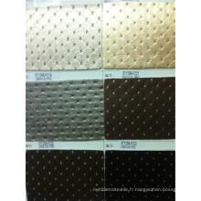 Cuir semi-PU artificiel pour meubles