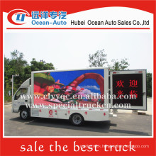 The low price and high quality mobile led advertising screen truck for sale