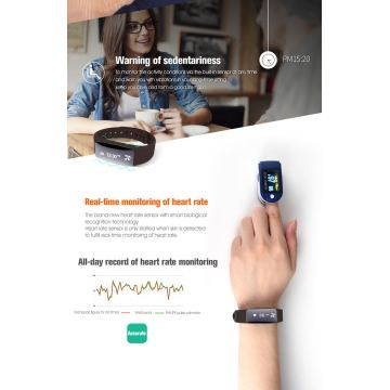 NFC Heart Rate Monitor Sportarmband