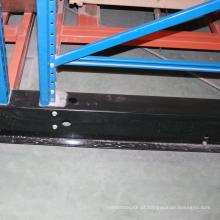 Equipamento de venda quente do armazenamento da cremalheira móvel resistente / auto solução fria do armazenamento da sala
