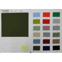 Tecido de tecido sólido 100% poliéster clássico