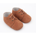 Unisex-ontwerp Soft Suede Leather Shoelace Crib Shoes