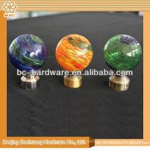 30mm, 40mm, 50mm, 60mm Crystal Crystal Decorative Curtain Finials