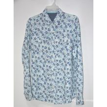 Camisetas masculinas casuais de linho tops