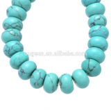 Natural Sky Blue Howlite Turquoise Stone Beads For Bracelet Necklace DIY Jewelry