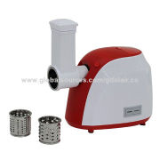 Electric Meat Grinder, Digital Switch, AC Universal Motor with Vegetable Shredder