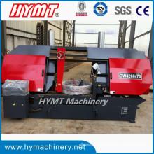 GW4260 / 70 Máquina de sierra de cinta horizontal de columna doble de tipo hidráulico