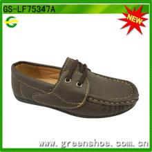 2016 nova criança meninos sapatos de camurça (gs-lf75347)