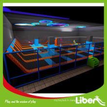 Amusement pour tous les trampoline commerciaux pour enfants à vendre, jeux fonctionnels inclus parc trampoline