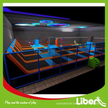 Spaß für alle Kinder kommerziellen Trampolin zum Verkauf, funktionale Spiele enthalten Trampolin Park