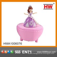 2015 fun design music box dancing doll for girl