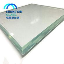 Precio de vidrio laminado 6.38mm 8.38mm 8.76mm Color / Cristal laminado transparente