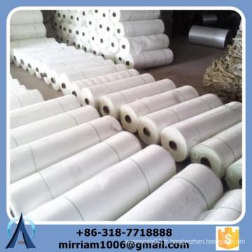 Tapis de tissu tissé en fibre de verre tissé en mousse, tissu en maille tissée en fibre de verre, tissu de maille en fibre de verre