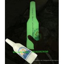 2018 de alta calidad! Botellas incandescentes / grietas y botellas ABS a prueba de roturas brillan en la oscuridad