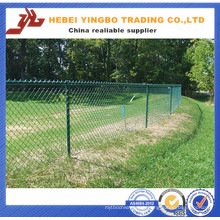 Yb-13 2016 New Cheap Price PVC Coated Highway Chain Link Fence