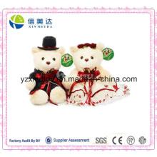 Игрушки с плюшевым медвежонком для свадебного плюшевого подарка