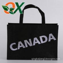 Black fashion handbag bag by nonwovens,Street fashion,canada
