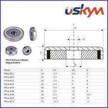 Permanent Rare Earth Magnetic Pot (P-009)