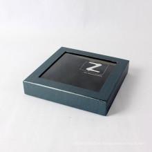 Impresión de pantalla personalizada con embalaje de caja de regalo de papel de ventana de PVC