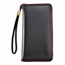 Carbon fiber commercial men wallet