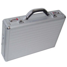 Ningbo Factory Supply wasserdicht und stoßfest Aluminium Laptoptasche mit Schlössern