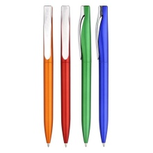 Twist Promotional Ball Pen dengan Metal Colored Barrel