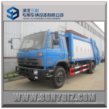 8cubic 10cubic 12cubic Dongfeng 4X2 Compactor Garbage Truck
