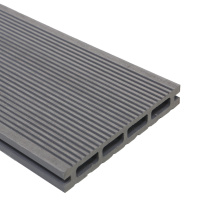 Waterproof Outdoor Garden Wood Plastic Composite Decking