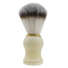 High Quality Plastic Handle Male Beard Shaving Brush Nylon Hair Foam Brush for Male Grooming