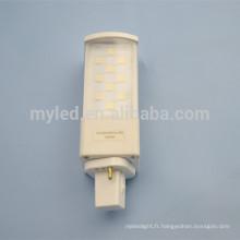 5630 haute puissance 6w g23 / g24 / e27 led pl light