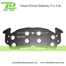 Placa trasera de acero D521