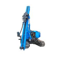 PV press pile driver machine