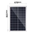 Poste Solar 80W 84000MAH