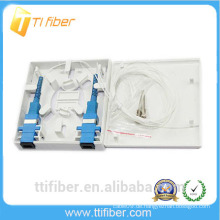 FTTH Typ SC / FC / ST / LC Faser Faceplate / Verteilung Mini Box