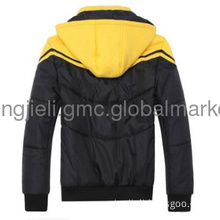 winter luxury outerwear cotton clothes male jacket