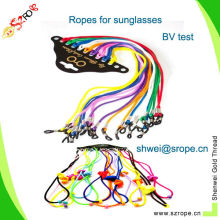 colored 3mm round rope lanyard/sunglasses rope