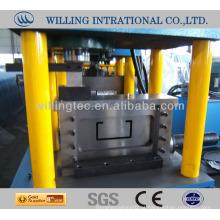 ZheJiang de boa qualidade e tamanho padrão c máquina de formação de purlin