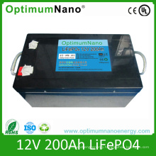 Hot Selling 12V 200ah LiFePO4 Battery Packs