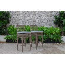Poly PE Rattan Bar Chair