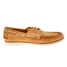 Working Leather Boat Shoes for Man
