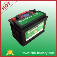 Batteries de voiture Power Volt 12V66ah-DIN66mf